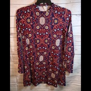MY STORY Women's dress boho festival tunic medium